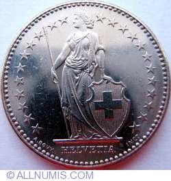 Image #2 of 2 Francs 1990
