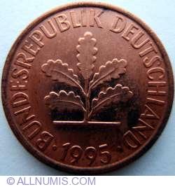 Image #2 of 2 Pfennig 1995 F