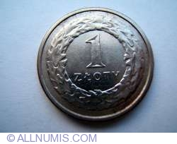 Image #1 of 1 Zloty 1995