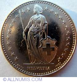Image #2 of 2 Francs 1995