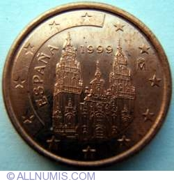 Image #2 of 1 Euro Cent 1999