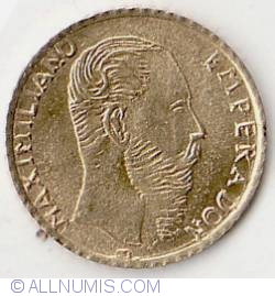 Image #1 of Peso Maximillian 1865
