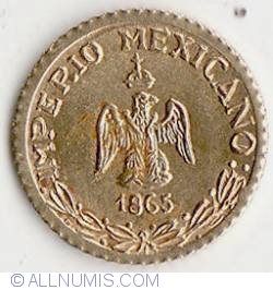 Image #2 of Peso Maximillian 1865
