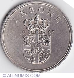 Imaginea #1 a 1 Krone 1963