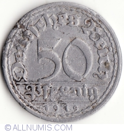 Image #1 of 50 Pfennig 1919 J