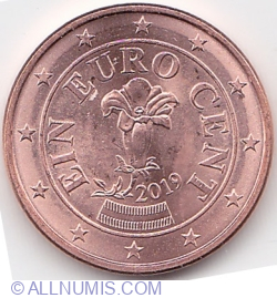 Image #2 of 1 Euro Cent 2019