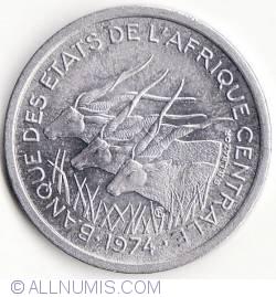 Image #2 of 1 Franc 1974