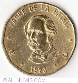 Image #2 of 1 Peso 1993