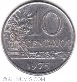 Image #1 of 10 Centavos 1975
