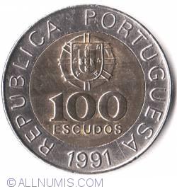 Image #1 of 100 Escudos 1991