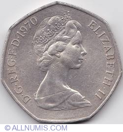 50 New Pence 1970