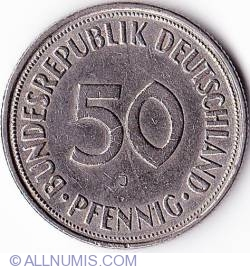 Image #1 of 50 Pfennig 1967 J