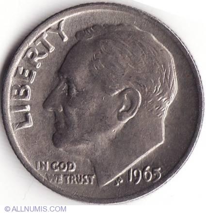 Dime 1965 Roosevelt 1946 Present