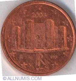 Image #2 of 1 Euro Cent 2008