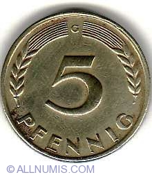 Image #1 of 5 Pfennig 1949 G