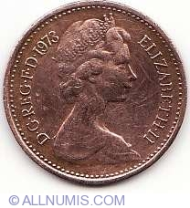 1/2 New Penny 1973