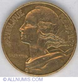 Image #2 of 20 Centimes 1986