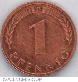 Image #1 of 1 Pfennig 1968 F