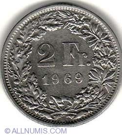 Imaginea #1 a 2 Franci 1969 B