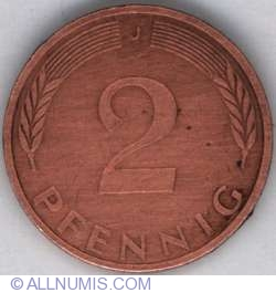 Image #1 of 2 Pfennig 1975 J