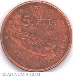 Image #2 of 5 Euro Cent 2006