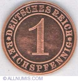Image #1 of 1 Reichspfennig 1934 A