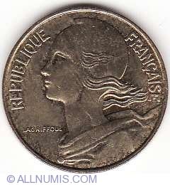 Image #2 of 10 Centimes 1990