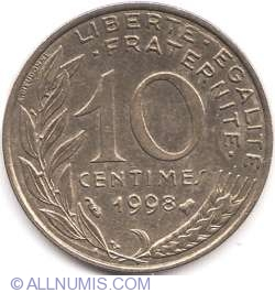 Image #1 of 10 Centimes 1998