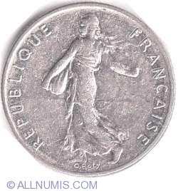 Image #2 of 1/2 Franc 1986