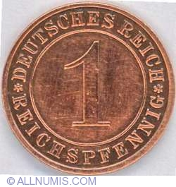 Image #1 of 1 Reichspfennig 1931 E