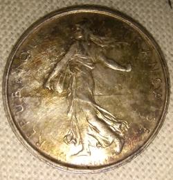 Image #2 of 5 Francs 1968
