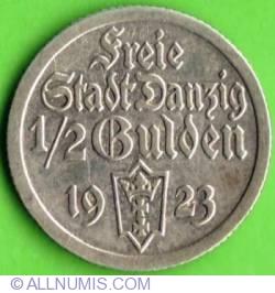 Image #1 of ½ Gulden 1923