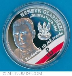 "10 Złotych 2017 - The Enduring Soldiers Accursed by the Communists - Henryk Glapiński - ""Klinga"""