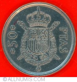 Image #2 of 50 Pesetas 1975 (78)