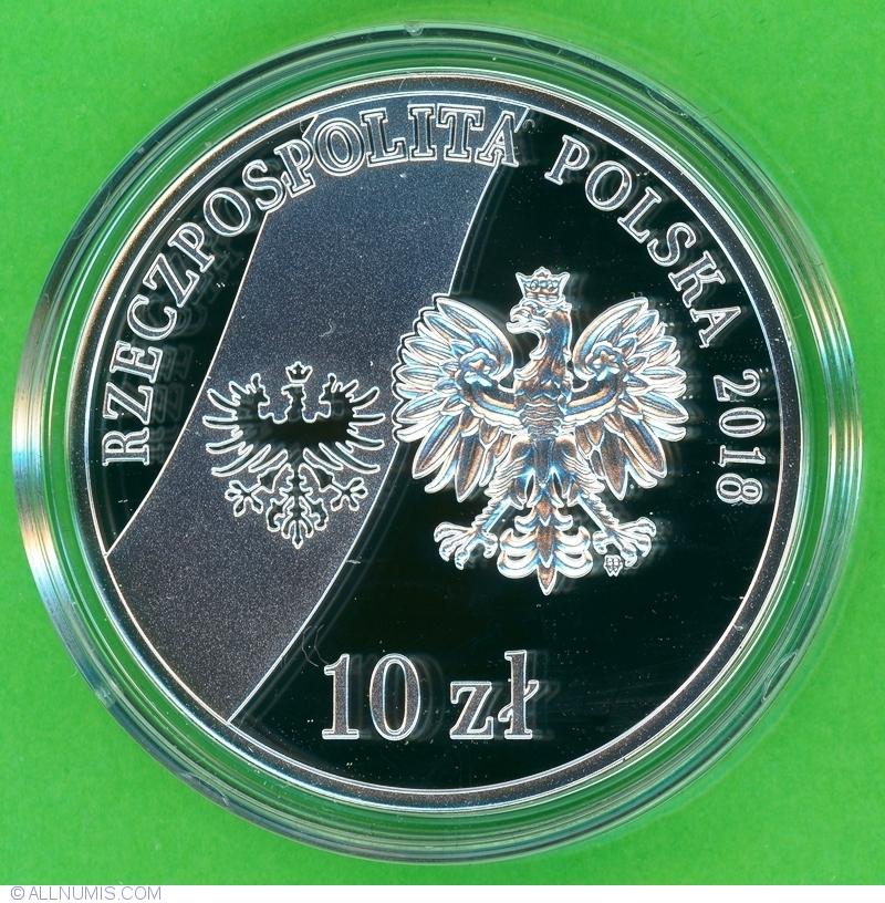 10 Złotych 2018 - 100th Anniversary of the regaining