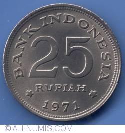 Image #1 of 25 Rupiah 1971