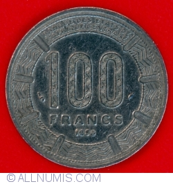 Image #2 of 100 Francs 1986