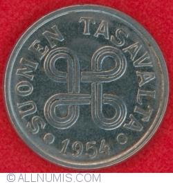 Image #1 of 5 Markkaa 1954