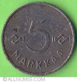 5 Markkaa 1952