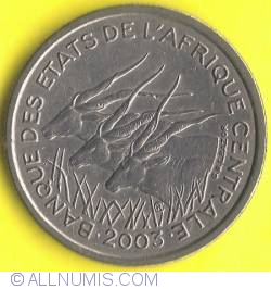 Image #1 of 50 Francs 2003