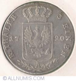 Image #2 of 1/3 Thaler (1/2 Gulden) 1790 A