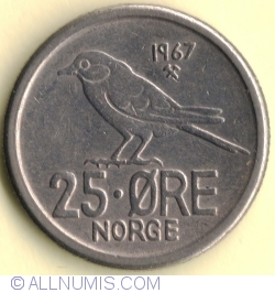 Image #2 of 25 Øre 1967