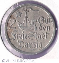 Image #2 of 2 Gulden 1923 - Koga