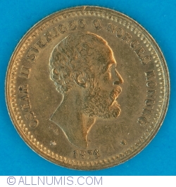 Image #1 of 10 Kronor 1874