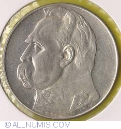 Imaginea #2 a 10 Zlotych 1939 - Jozef Pilsudski