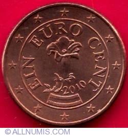 Imaginea #1 a 1 Euro Cent 2010