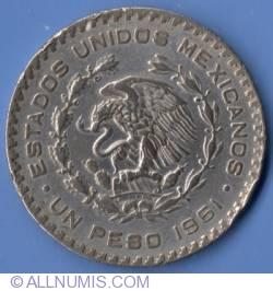 Imaginea #1 a 1 Peso 1961