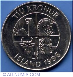 Image #1 of 10 Kronur 1996