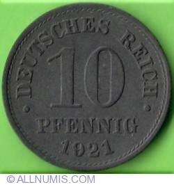 Image #1 of 10 Pfennig 1921