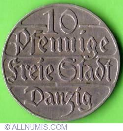 Image #2 of 10 Pfennig 1923